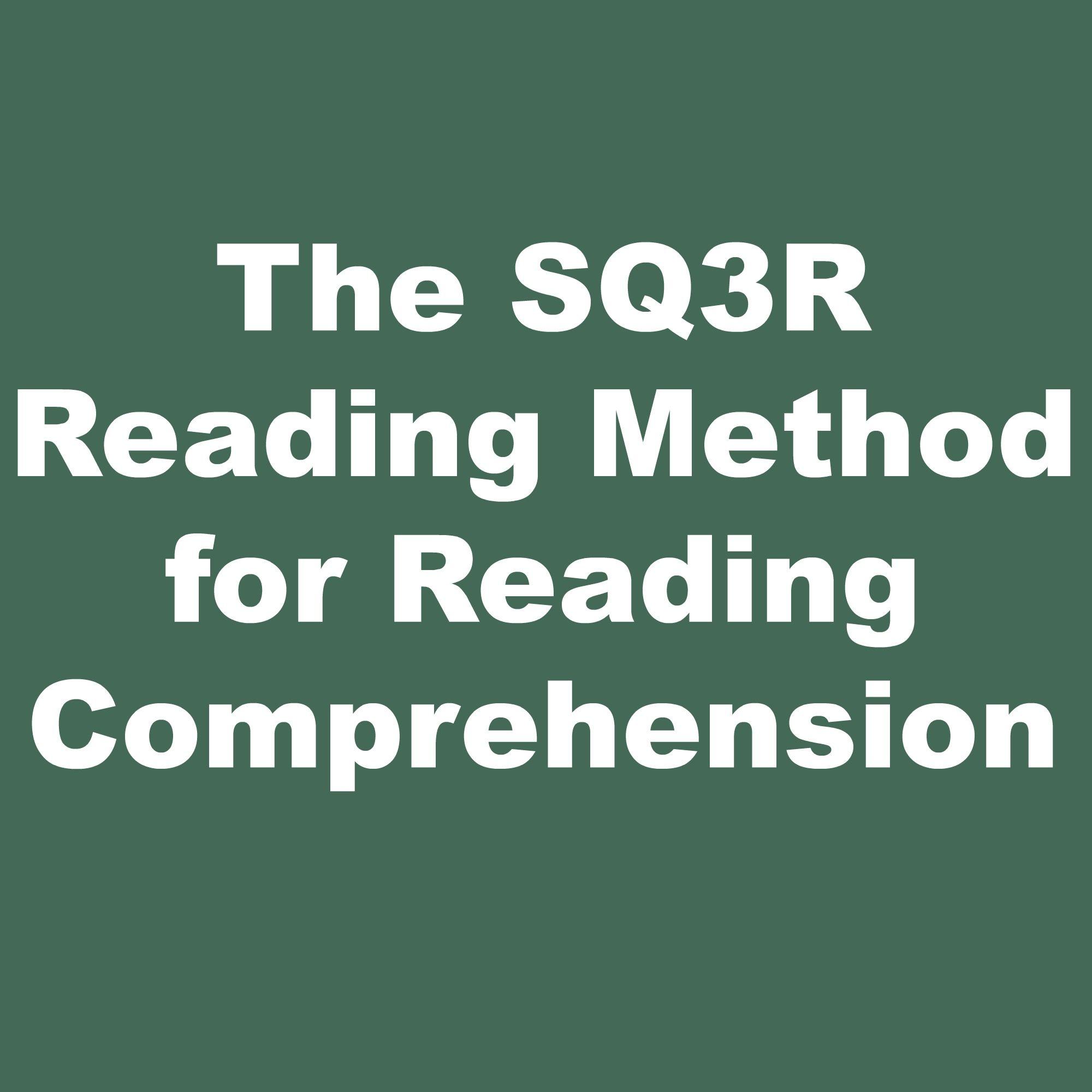 The Sq3r Survey Question Read Recite Review Method