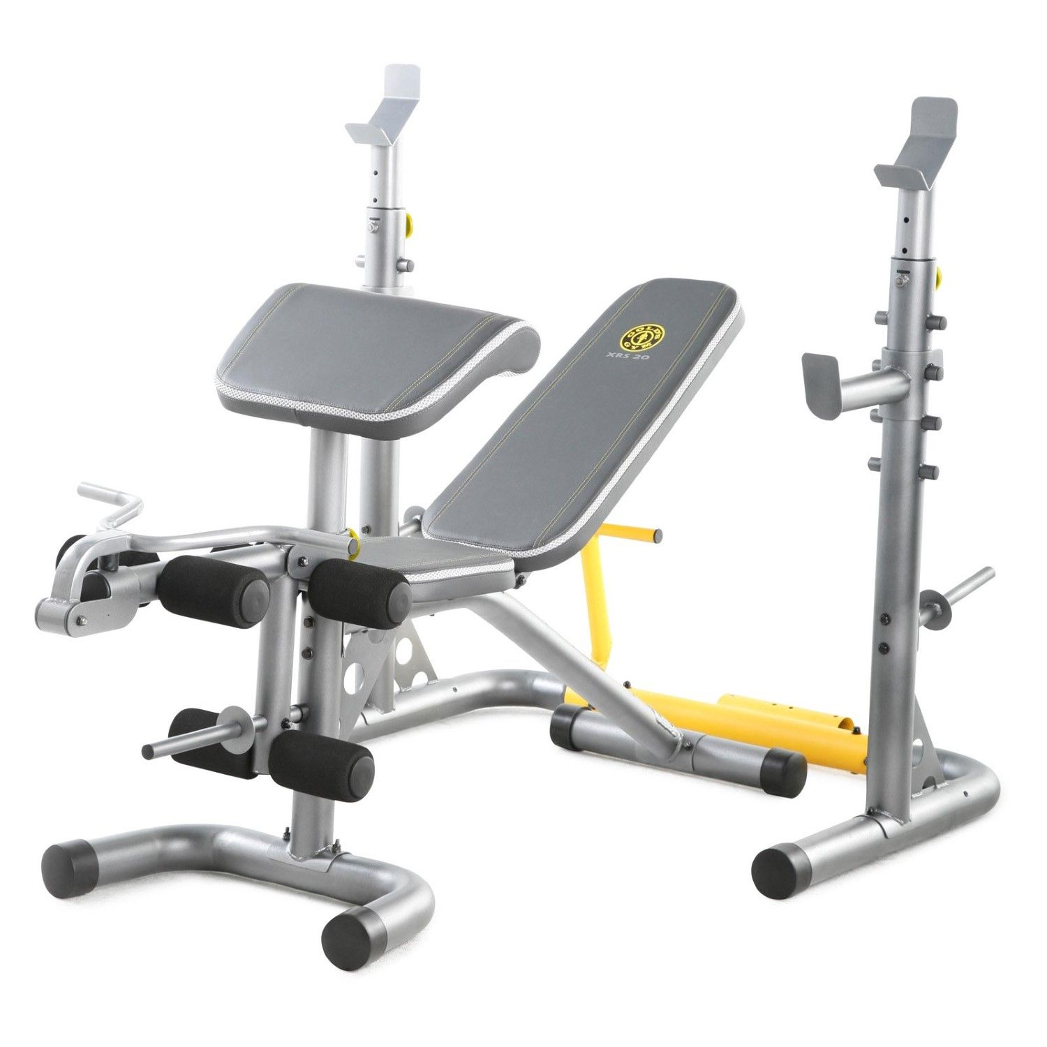 Whether You Re A Seasoned Fitness Enthusiast Or A Beginner The Golds Gym Xrs20 Weight Bench Is The Perfect Multi Functi Weight Benches Golds Gym Bench Workout