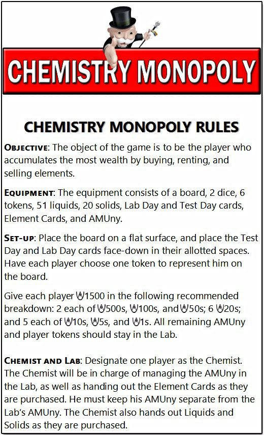 I am so excited to share this chemistry monopoly game with you alli i am so excited to share this chemistry monopoly game with you alli am urtaz Gallery