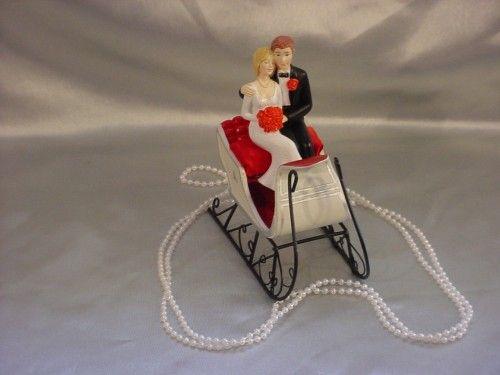 Beautiful Christmas Wedding Cake Toppers   Eliteweddinglooks ...