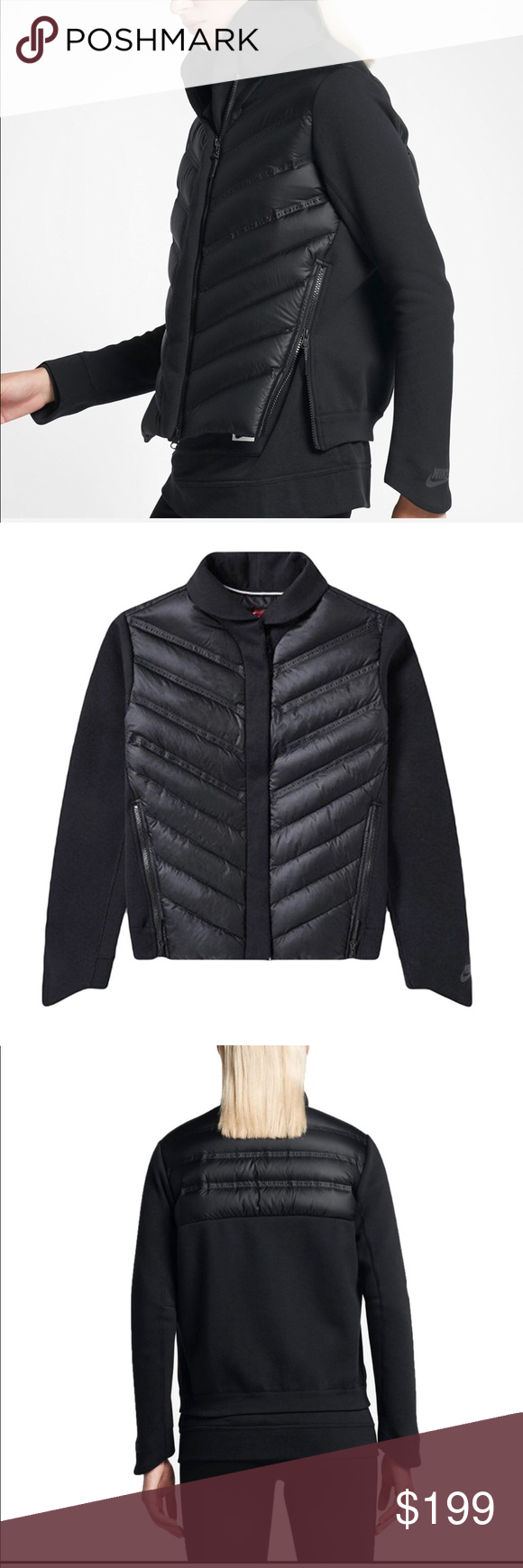 4462099a7 Nike NWT Tech Fleece Aero Loft Bomber Jacket •Details• This Jacket ...