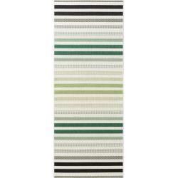 benuta Plus In- & Outdoor-Teppich Capri Grün/Beige 80x150 cm - für Balkon, Terrasse & Garten #balkongestalten