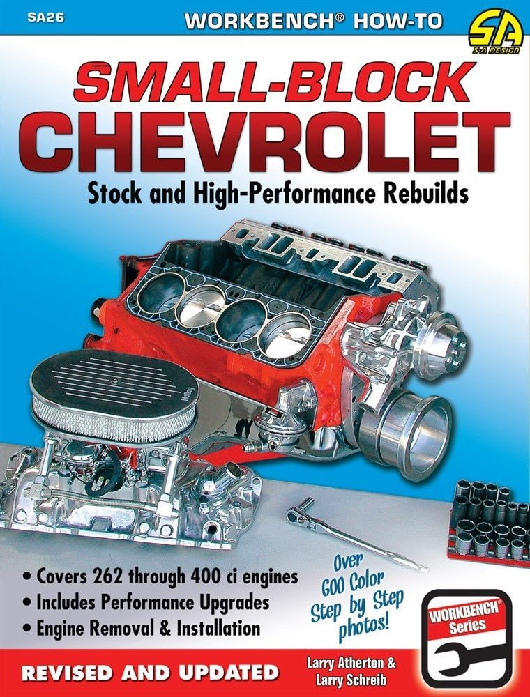 Rebuild 262, 283, 302, 305, 307, 327, 350, 400 Chevy Small Block - fresh blueprint engines 383 stroker crate motor