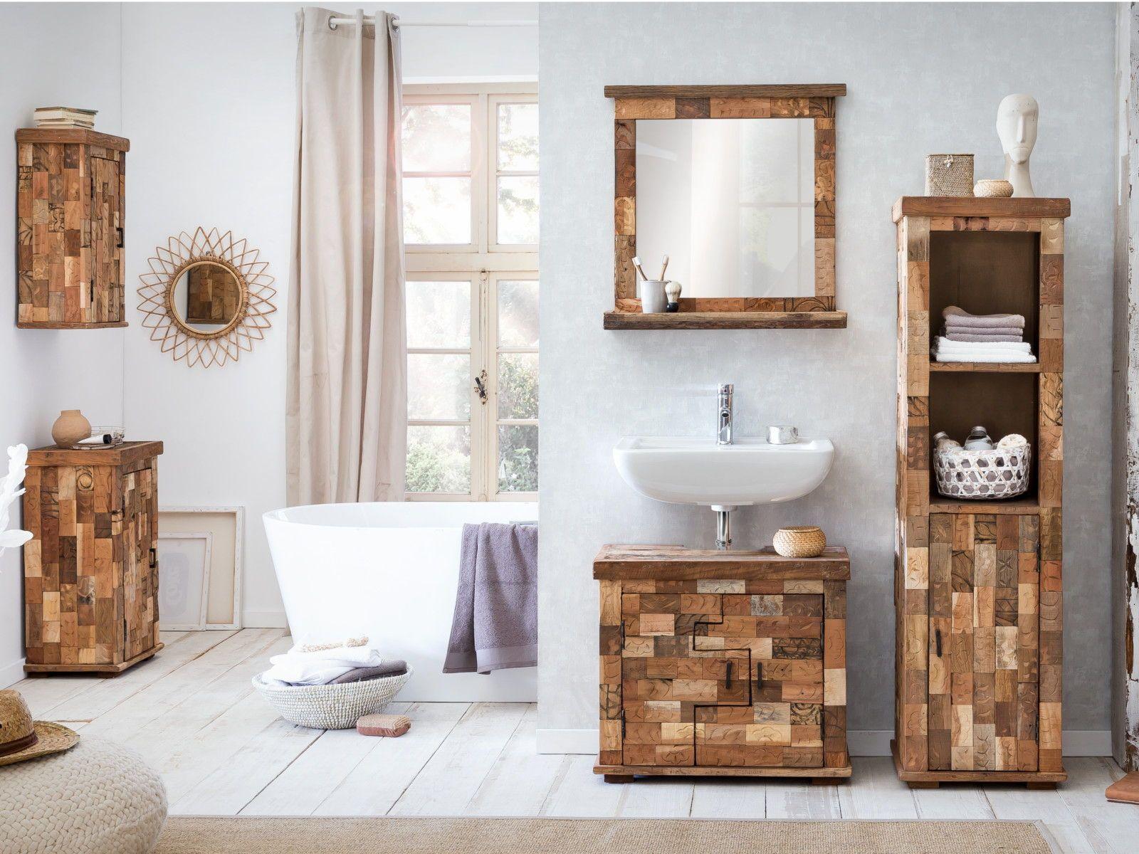Unikate Von Woodkings Absolute Einzelstucke Aus Recycelten Hozern Und Stempelformen Schrank Altholz Rustikal Waschbeckenunterschrank Altholz Badezimmer