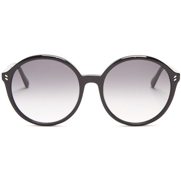 948ef44a2de2 Stella McCartney Round-frame acetate sunglasses ( 176) ❤ liked on Polyvore  featuring accessories