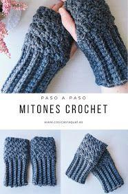 Mitones Crochet