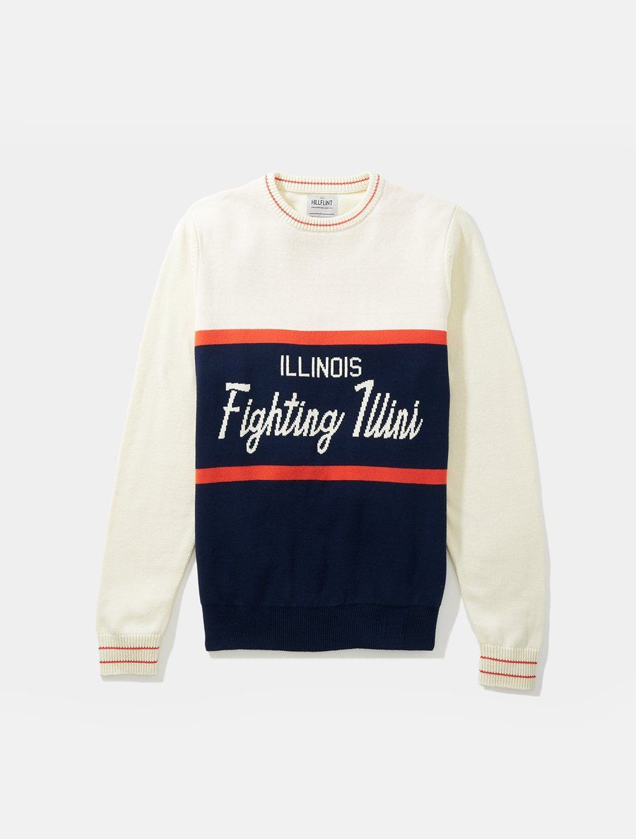 Illinois Tailgating Sweater Full Sleeve Sweaters Sweater Fashion Sleeves [ 1187 x 900 Pixel ]
