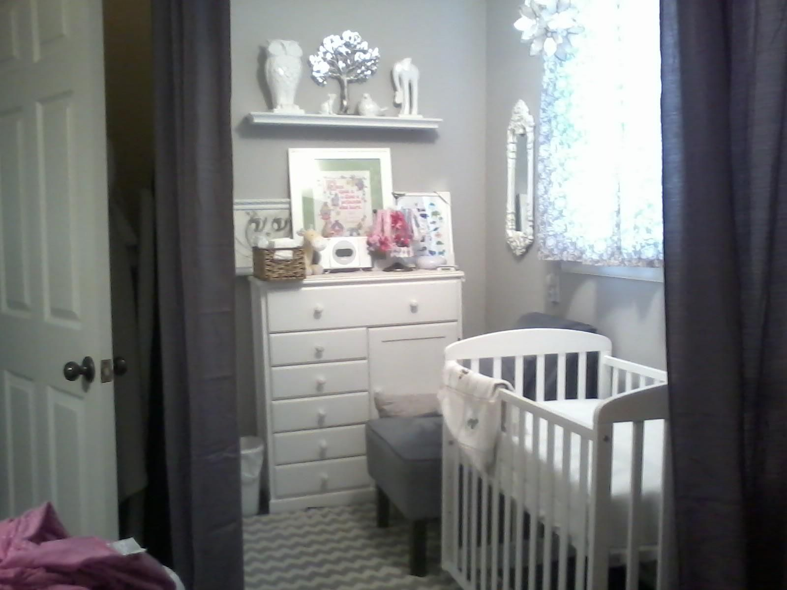 Best My Daughter S Nursery Nook Converted From A Walk In 400 x 300