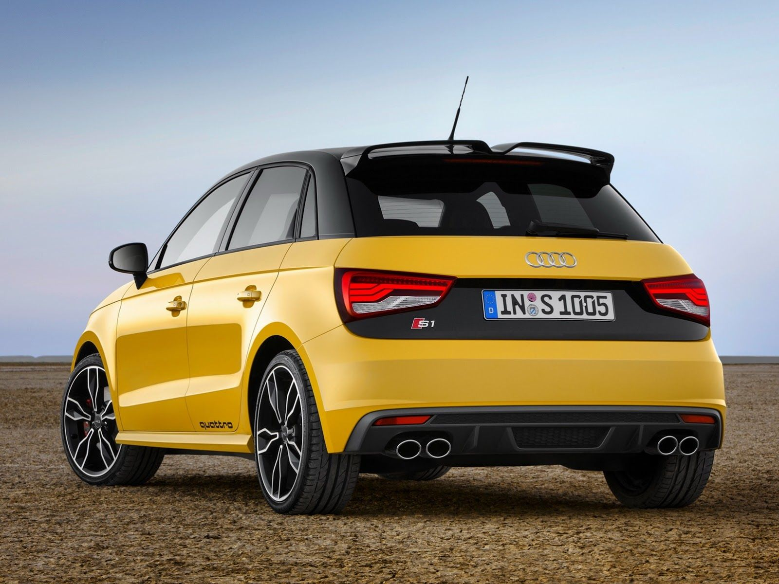 The 2015 Audi S1 Quattro Is A Furious Yellow Ball Of Fun Audi