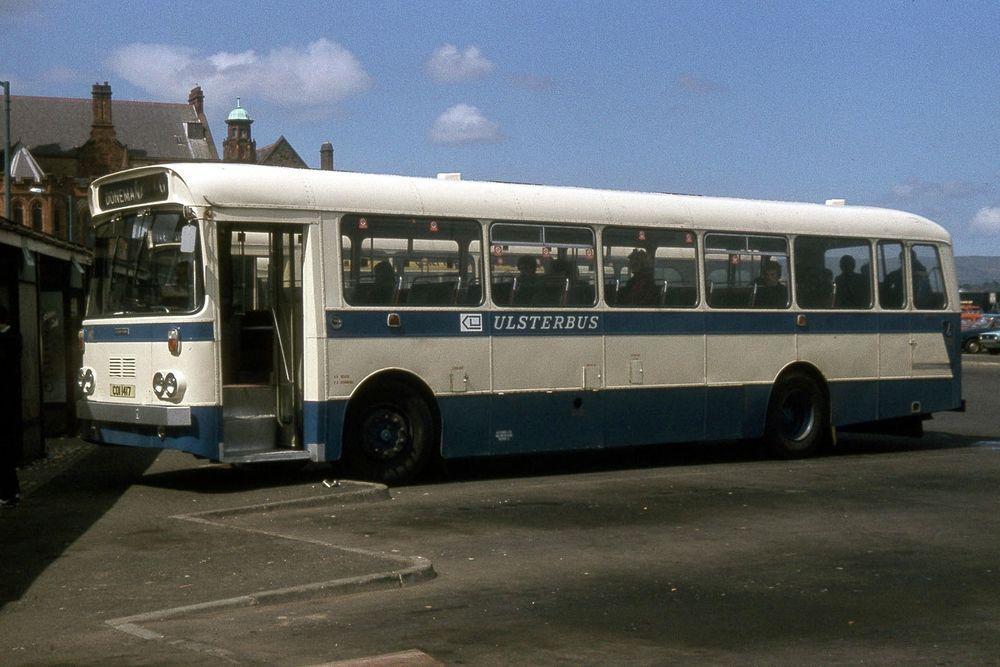 Ulsterbus 1417 Derry 1981 Irish Bus Photo Bus, Derry, Photo