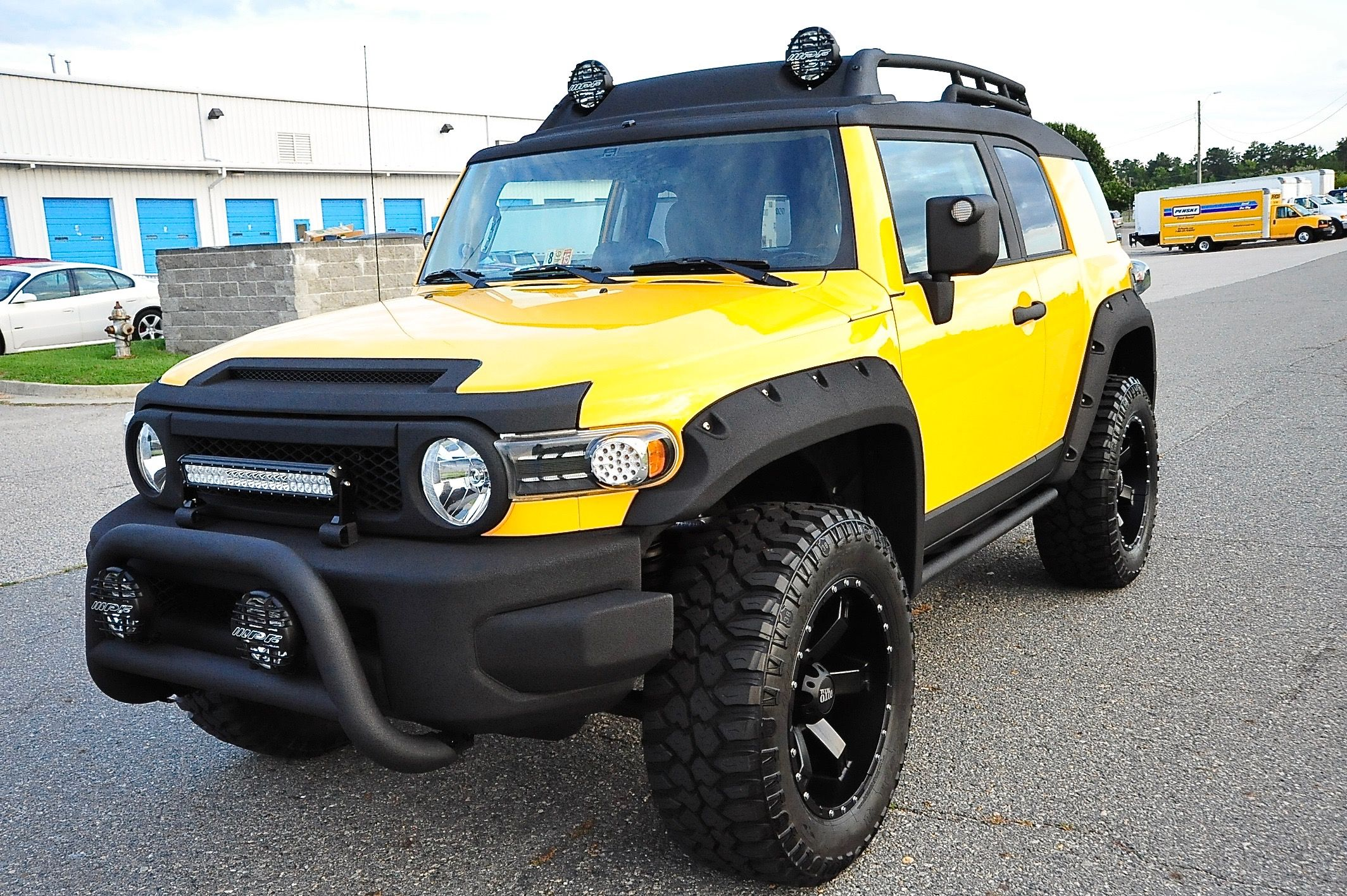 FJ_Yellow_1 — Davis Autosports Jeep cherokee sport