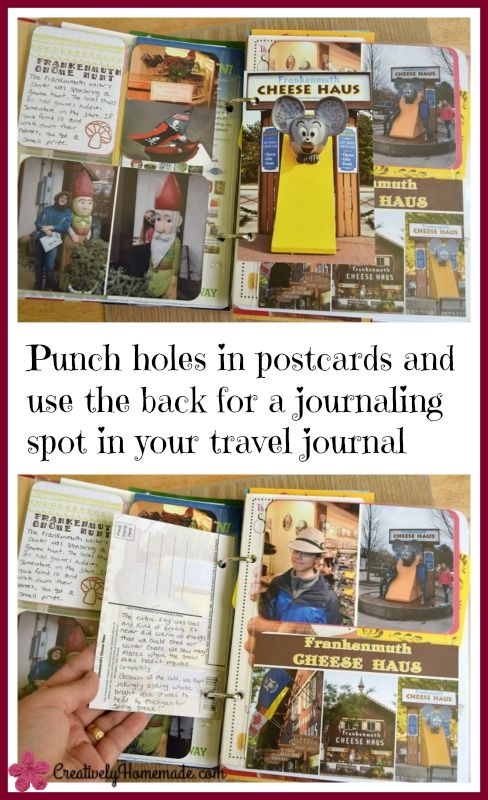 Make Your Own Travel Journal Scrapbook Its Easier Than You Think