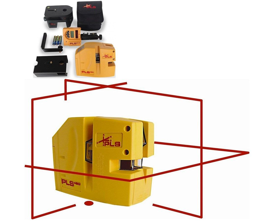 Interior And Exterior Use With Plumb Level And Square Functions 200 Foot Range With Laser Detector 1 8 Inch At 60 Feet Square And System Laser Submersible
