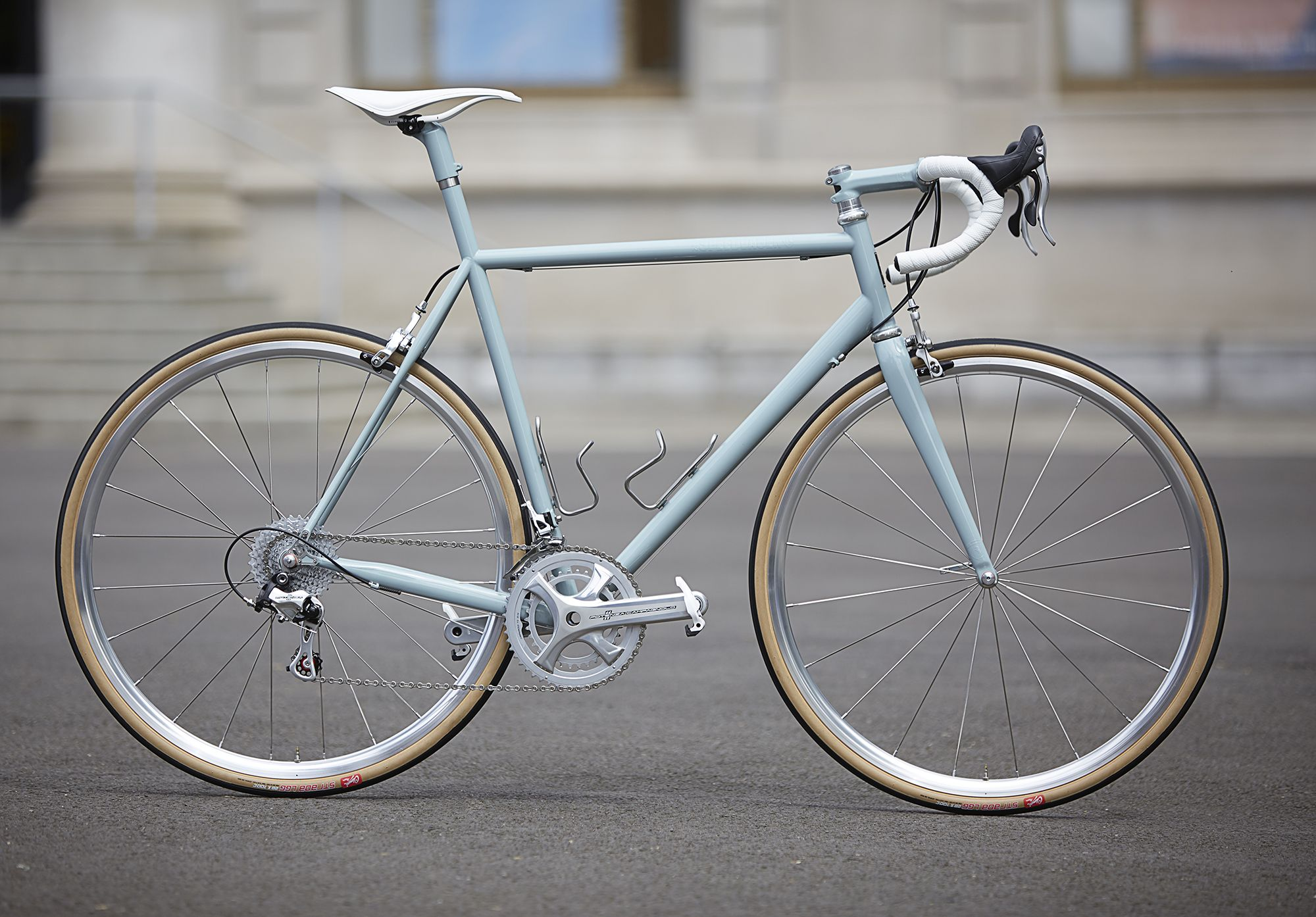 A Classic Speedvagen With Silver Components Classic Road Bike Road Bike Vintage Bicycle