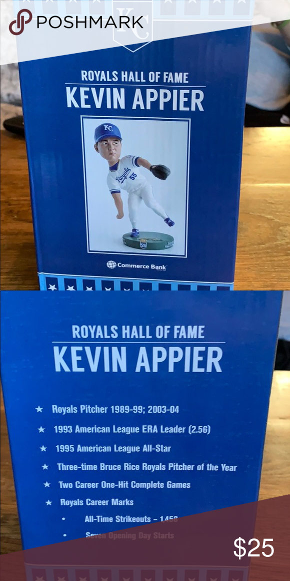 Kevin Appier Bobblehead In 2020 Bobble Head Clothes Design Kevin