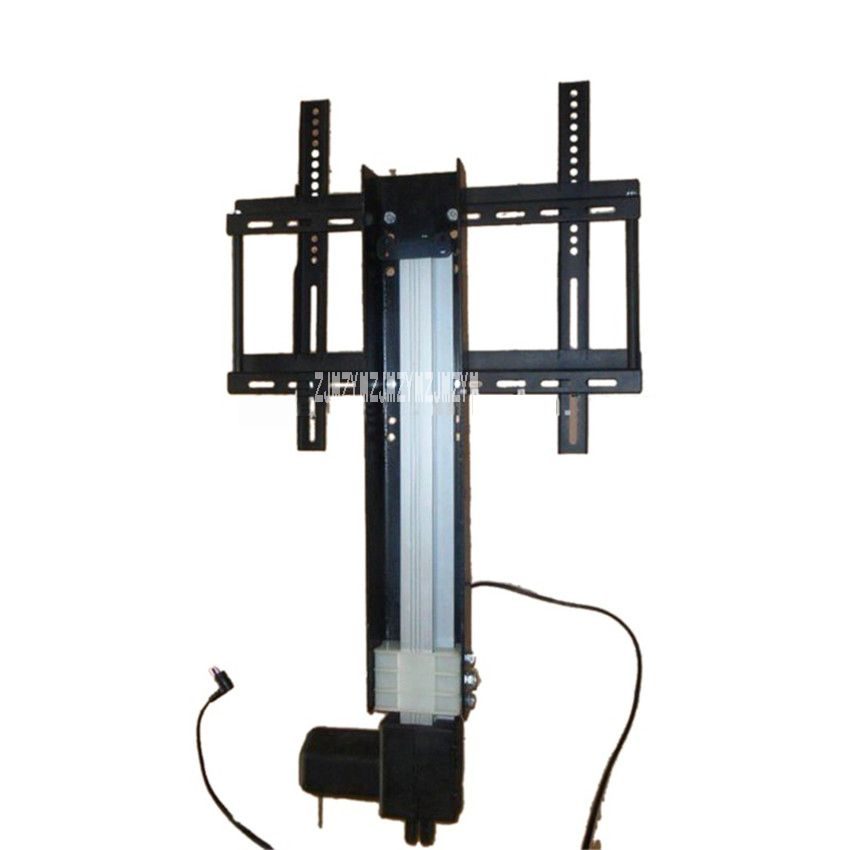 LCD TV Lift Bracket Ok618tv 850mm Stroke Automatic Height Adjustable TV  Lifter TV Mount With Mounting