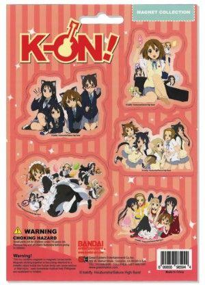 K-ON! Magnet Set: Girls in Groups #RightStuf2013