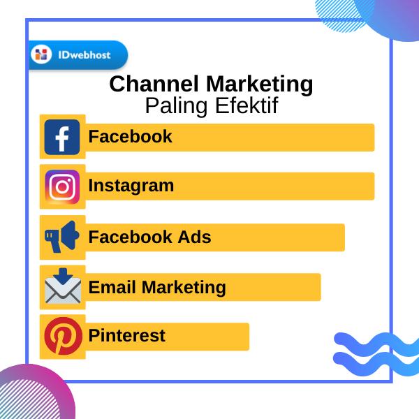 Channel Marketing Paling Efektif Startup Marketing Pemasaran