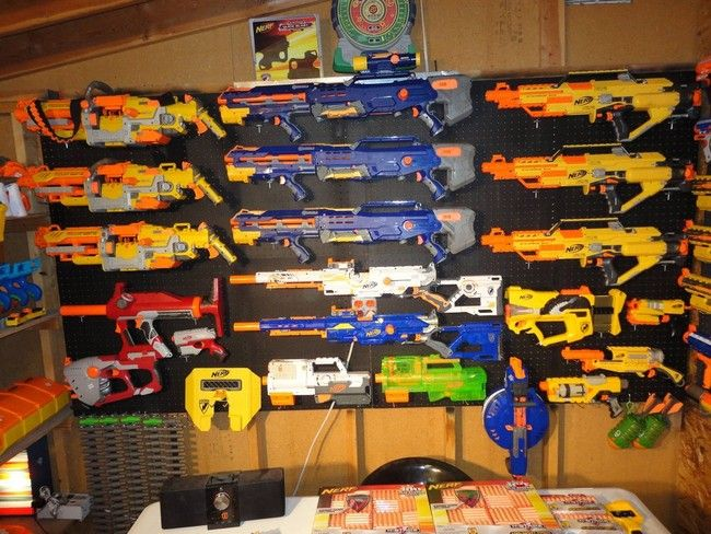 This Nerf Gun Collection Is Impressive, But It Won't Help Much During An