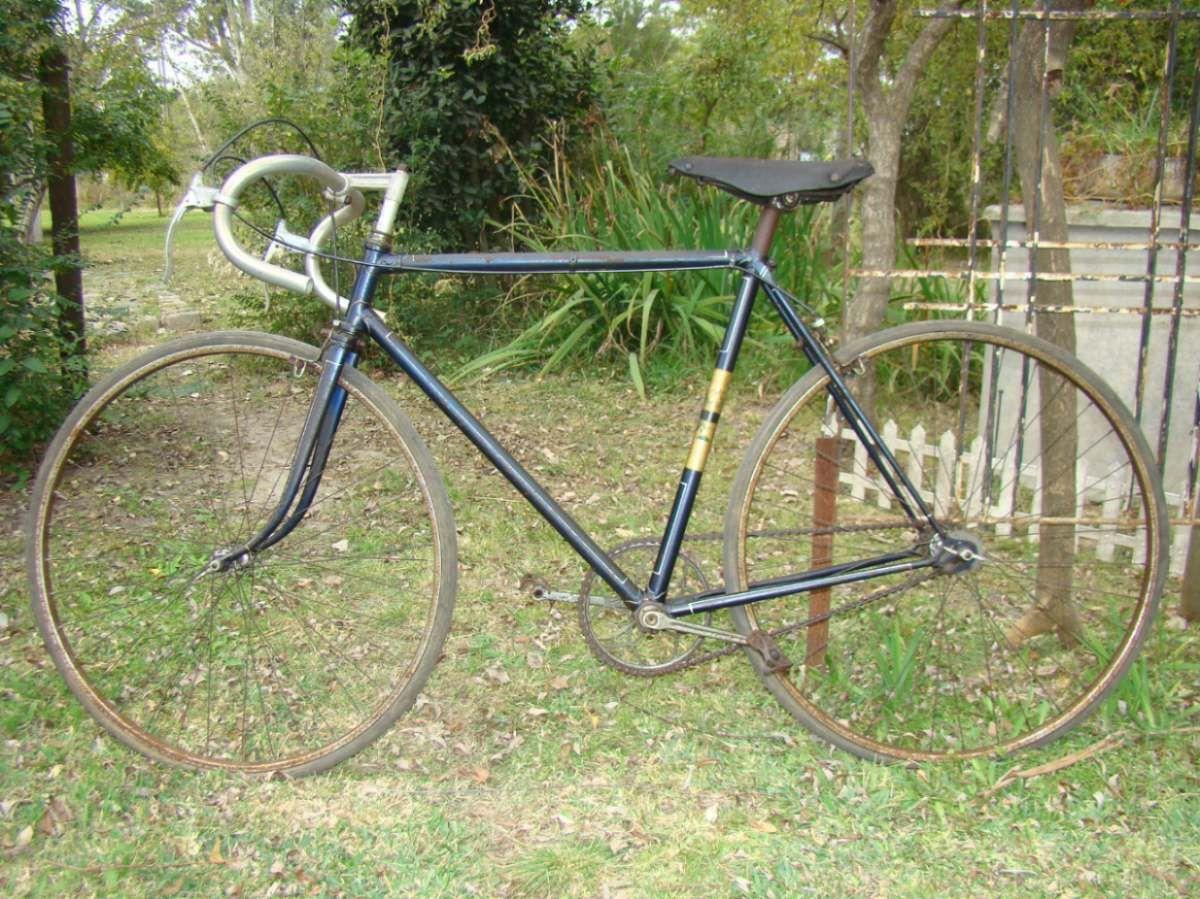 Antigua Bicicleta De Carrera, Año 1937 | Bicicletas de carreras ...