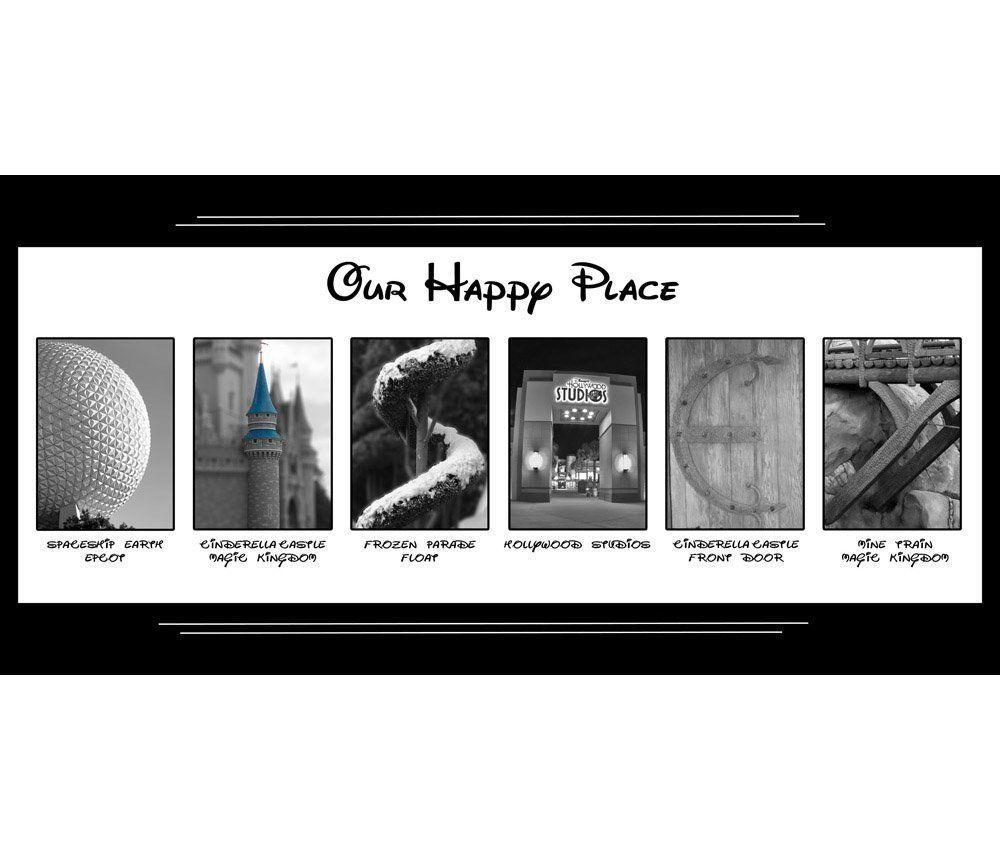 Our happy place walt disney world artwork x disney