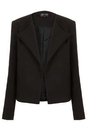Waffle Waterfall Jacket - Blazers - Jackets & Coats  - Topshop £50