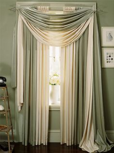 How To Drape A Scarf Valance Curtains Pinterest Scarf Valance