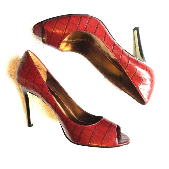 "Enzo Angiolini Emerryann Leather heels Worn once, flawless condition. 3.5"" heel. Enzo Angiolini Shoes Heels"