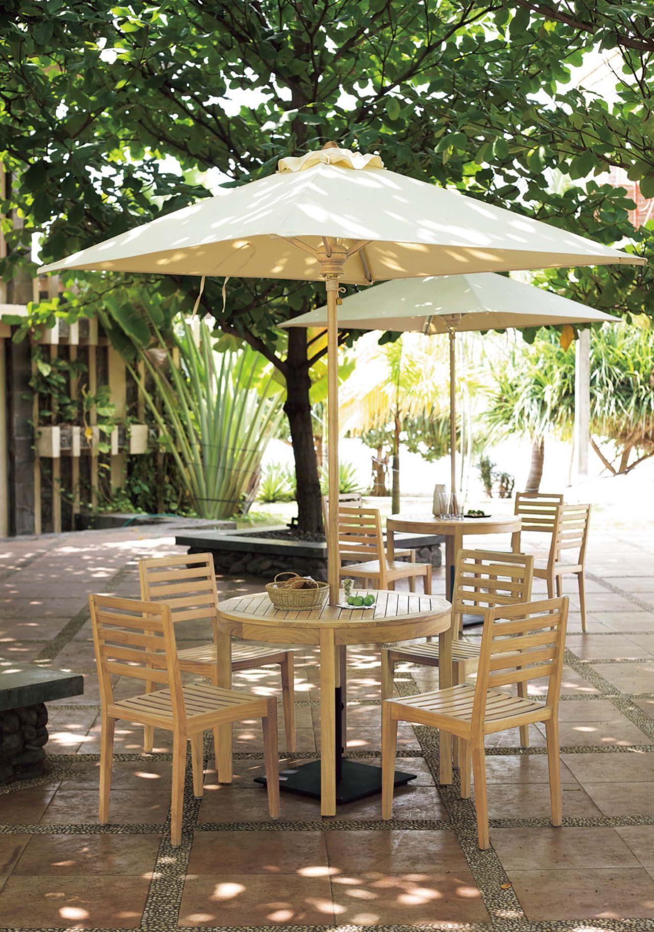 Flymee #resort #garden #terrace #furniture #chair #parasol