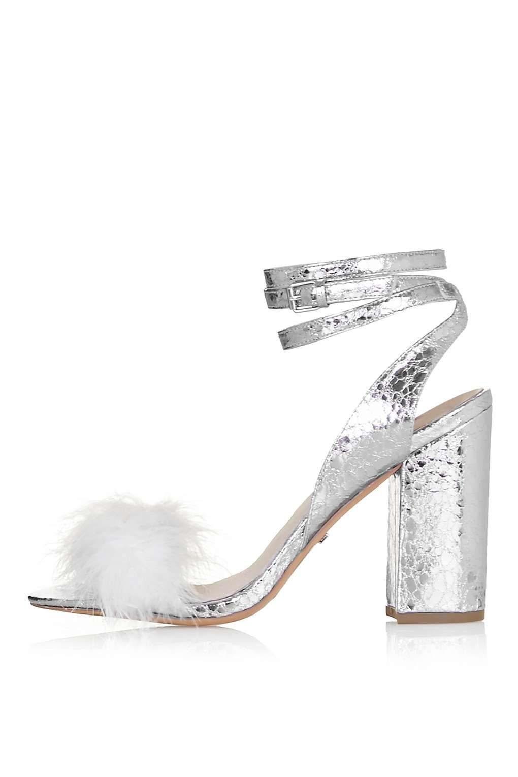 8a390c90eb Carousel Image 0 Silver Heels, Metallic Heels, Party Shoes, Heeled Mules,  Heeled