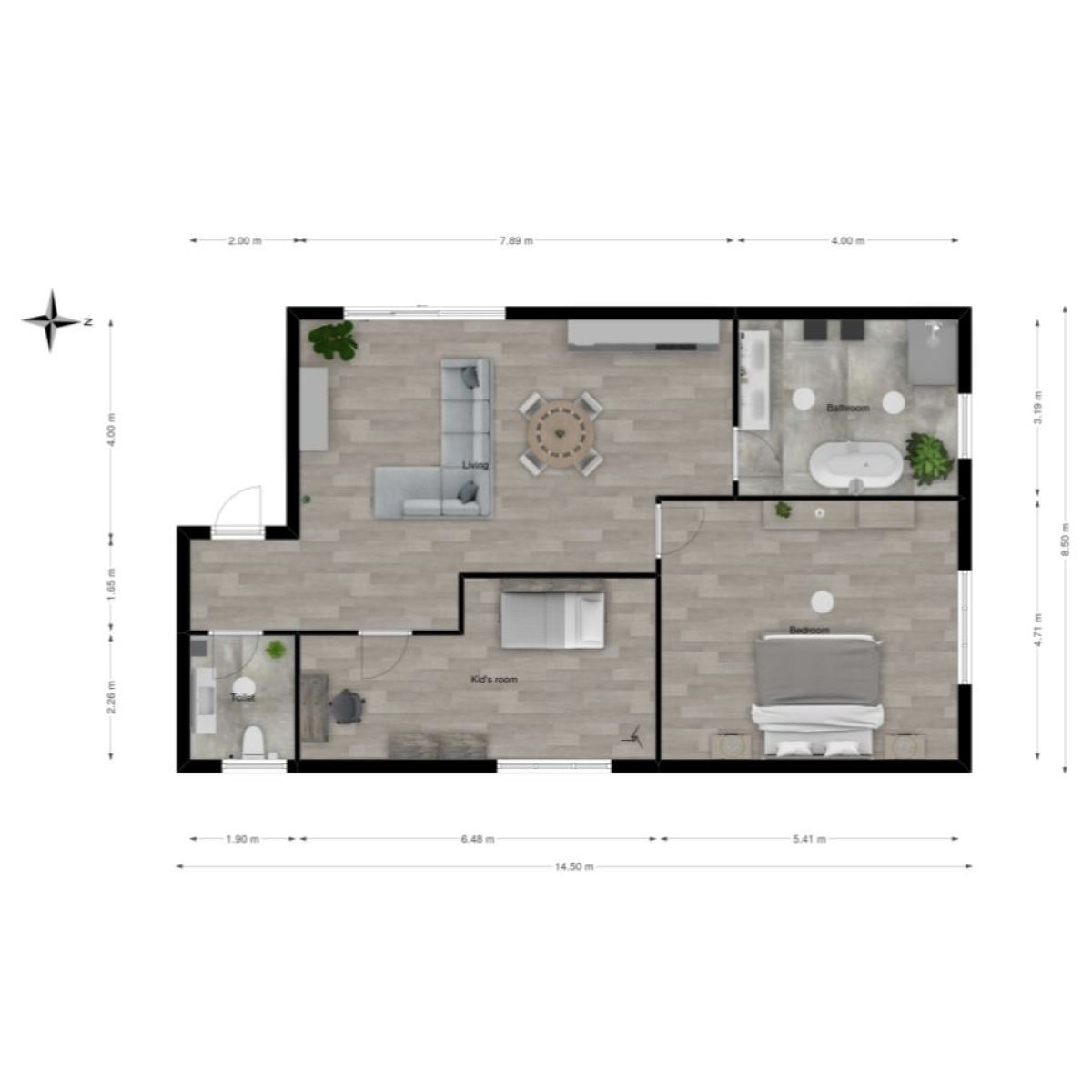 Apartment Layout Made On Floorplanner Com Floor Plans Apartment Layout Create Floor Plan