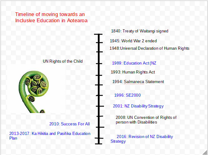 Timeline I Developed On Moving Towards An Inclusive Country Relating To Policies And Strategie Inclusive Education Declaration Of Human Rights Human Rights Act