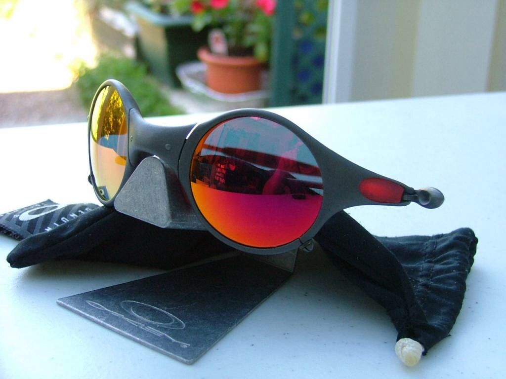 How about some Ruby Oakley Mars? Find more at OakleyForum.com ...