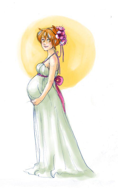 Pin On Draw Fem Pregnant