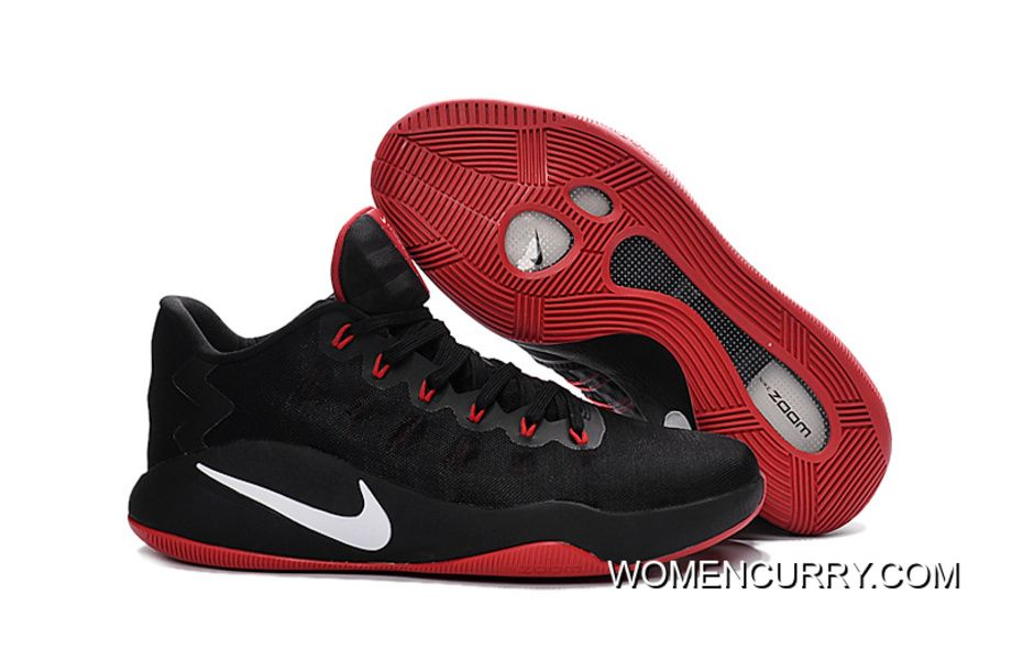 promo code bfba1 b00c7 Cheap Hyperdunk 2016 Low Black Gym Red Varsity Red - Click Image to Close