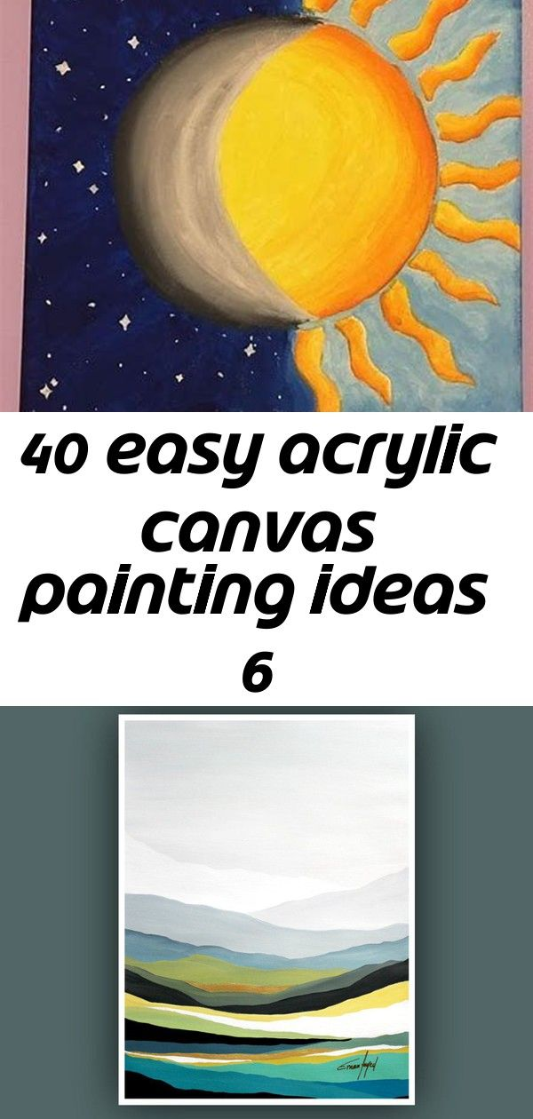 40 easy acrylic canvas painting ideas 6 Easy Acrylic Canvas Painting Ideas Printable Abstract Art Instant Digital Download Art Modern  Etsy Rock can also be a work of art...