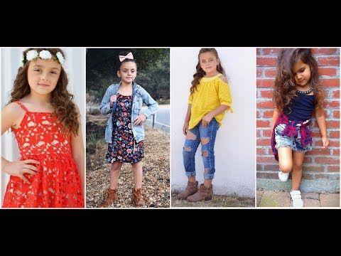 792c38b6d ملابس اطفال بنات صغار للعيد 2018 - YouTube | التميز السابع | Fashion ...
