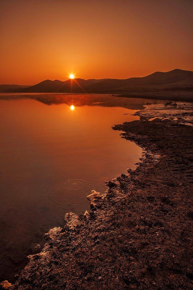 Sunrise In Iran By Mohsenvejdany1 Landscape Sunrise Beach Sun Iran