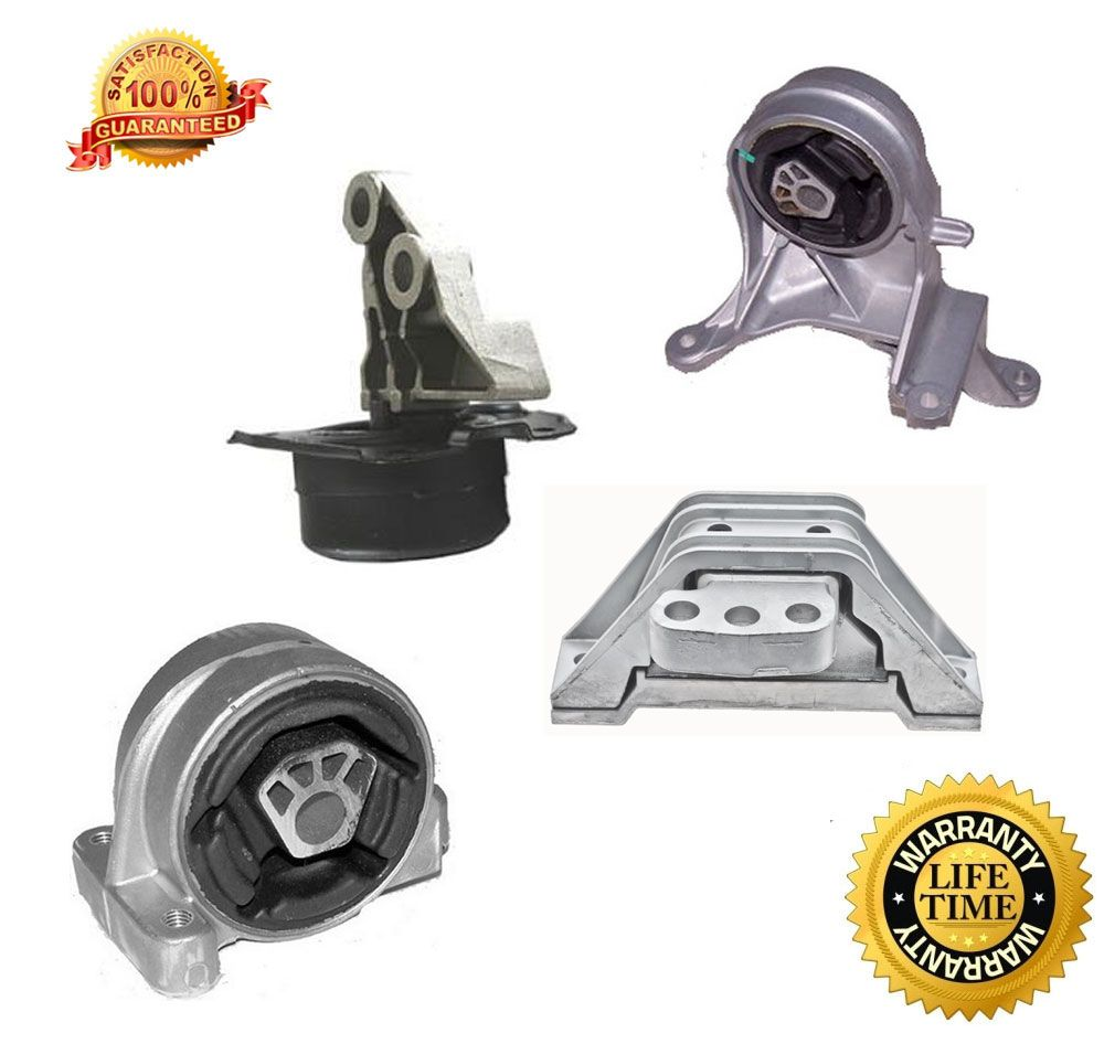 2005 2006 chevy equinox 4pc auto trans and motor mount kit. Black Bedroom Furniture Sets. Home Design Ideas