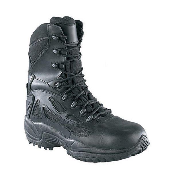 Reebok Rapid Response Waterproof Side Zip 8 Inch Tactical Boot ... f7c2959ee