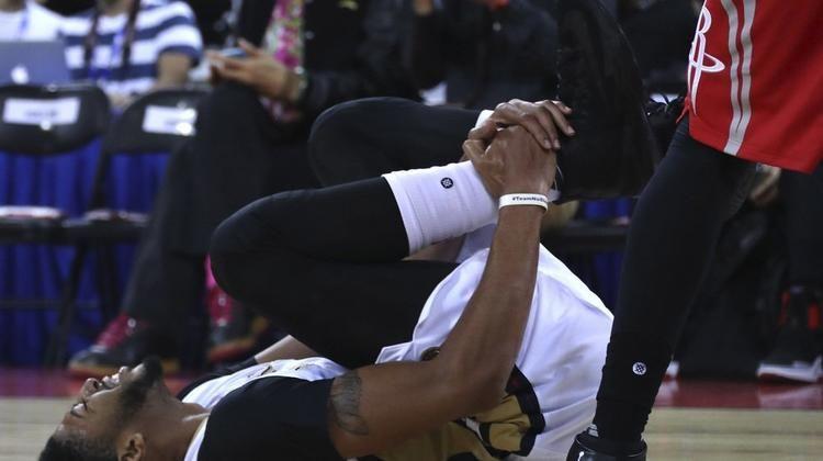 4 נקודות לדאוסון בהפסד הפליקנס בבייג'ינג אנתוני דייויס נפצע - וואלה!