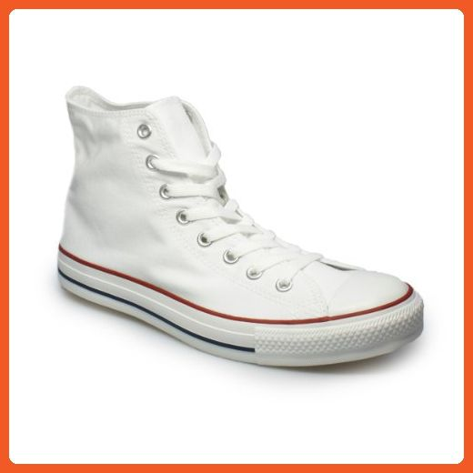 ba253cd7d8d Mens Converse Chuck Taylor All Star High Top Sneakers (4.5 D(M) US. Womens  White ...