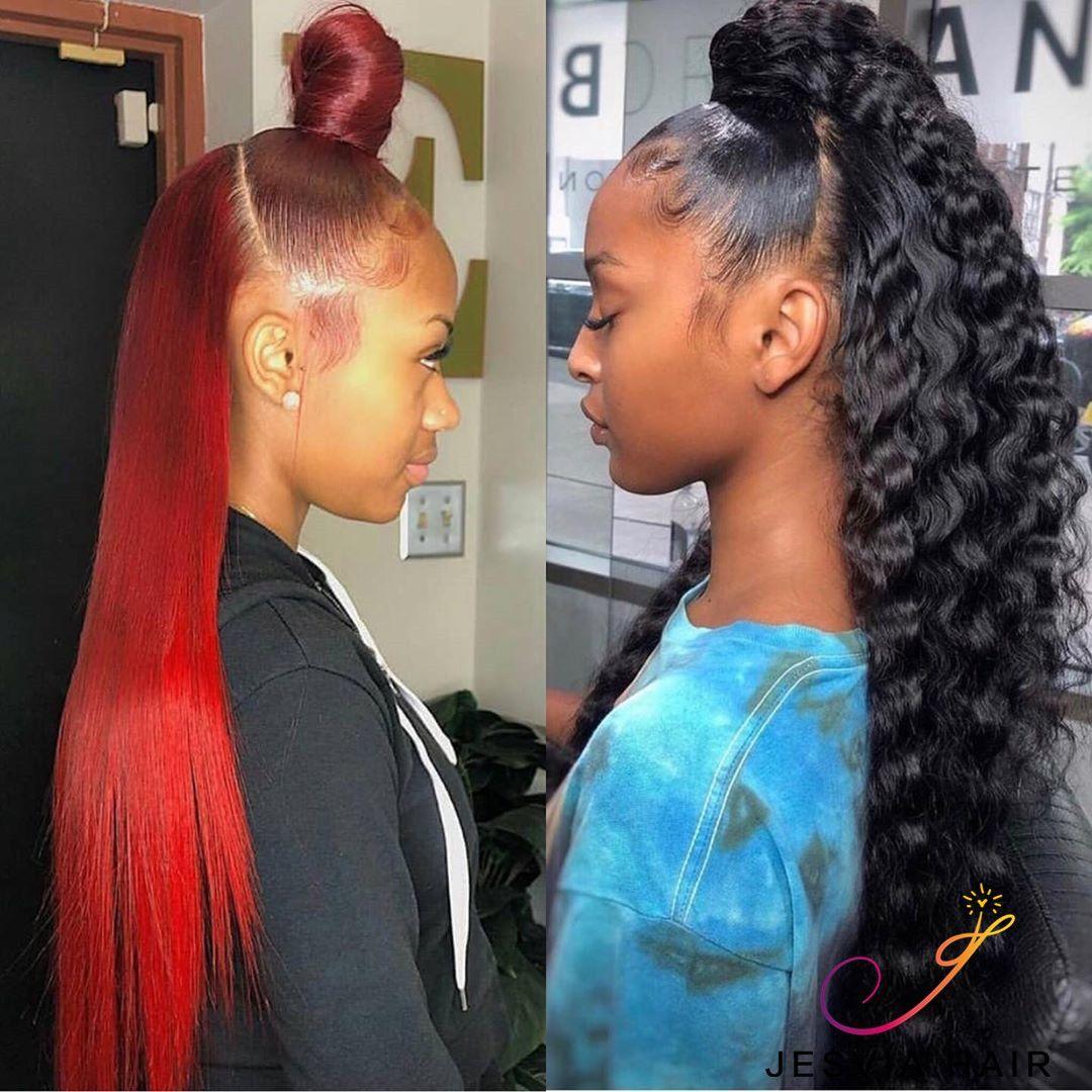 Hairextensions Hair Extensions Hair Extension Care In 2020 Natural Hair Styles Hair Styles Half Up Half Down Hair