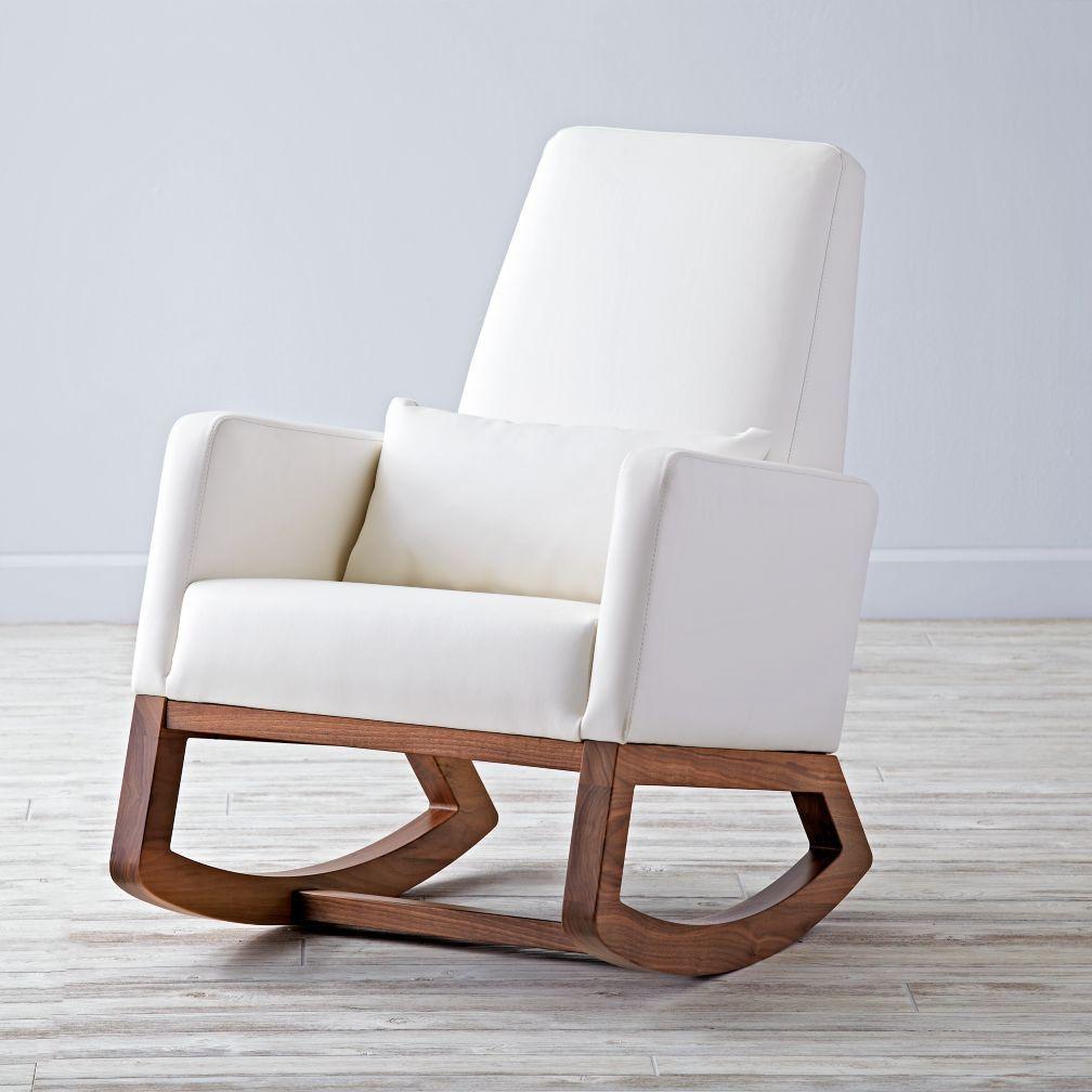 White Wooden Rocking Chair Rocking Chair Nursery Rocking Chair