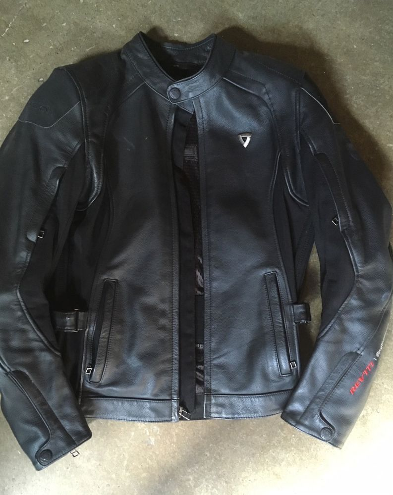 Revit Women's Leather Motorcycle Jacket and Pants Size 10