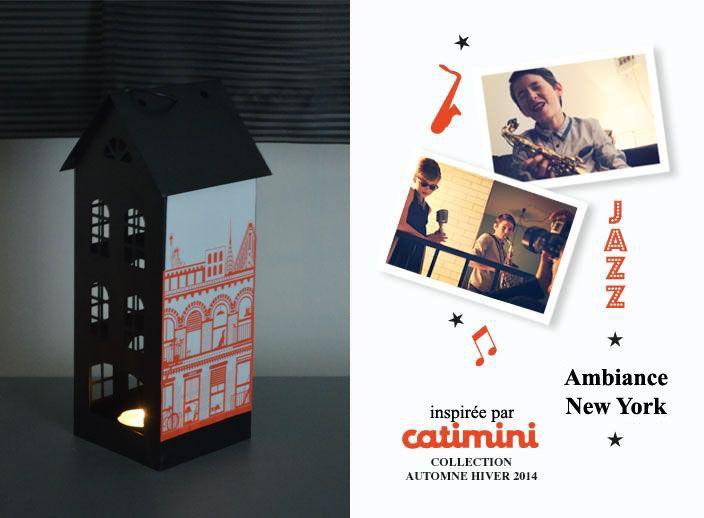 Lanterne ambiance New York