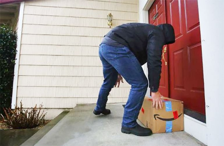 Package theft is on the rise this holiday season stop