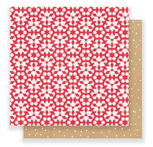 FALALA Crate Paper Snowflakes Scrapbooking Paper