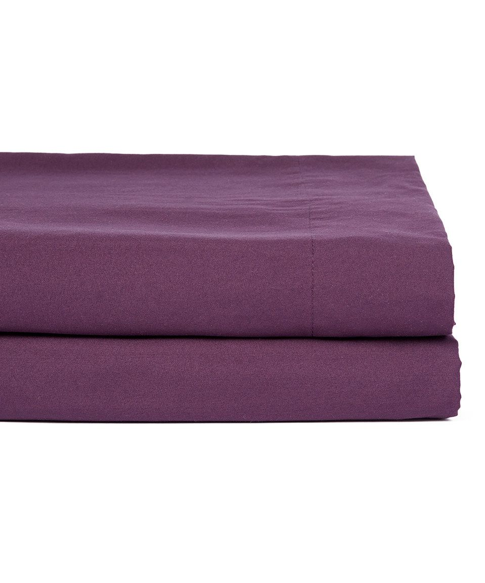 Purple Six-Piece Sheet Set by Duke Imports, Inc. #zulily #zulilyfinds