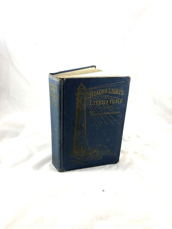 1934 Beacon Lights of Literature  Book 3  by Rudolph